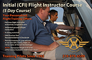 5 Day Flight Instructor Course CFI