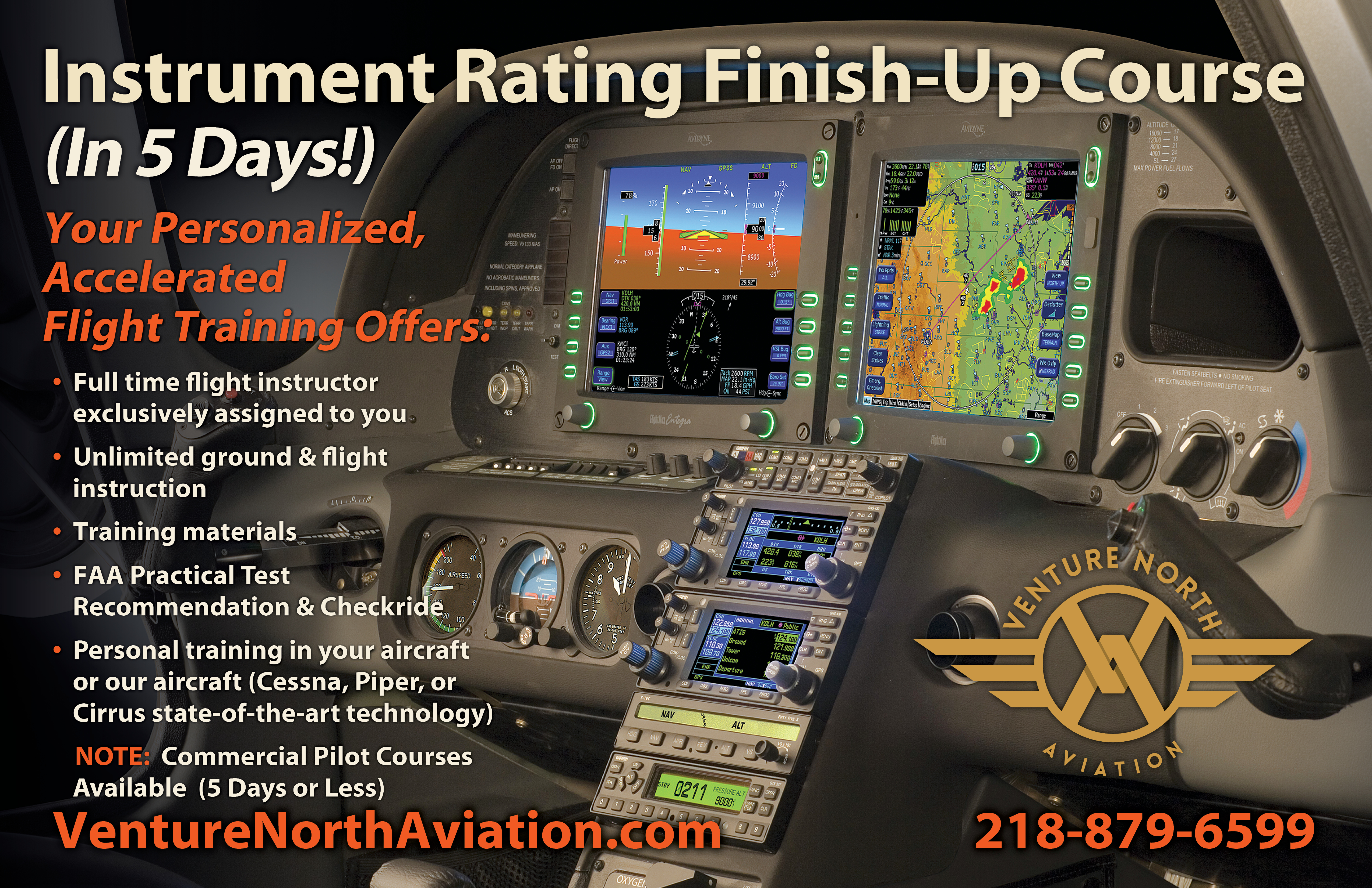 5 Day IFR Finish-Up Course