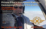 90 Day Professsional Pilot Course