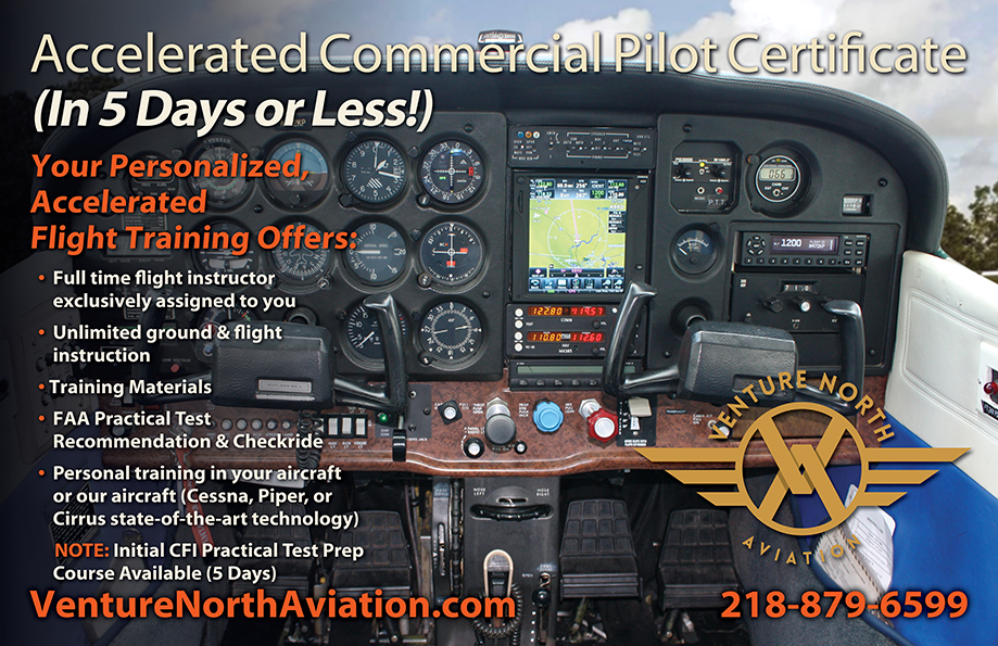 Accelerated Commercial Pilot Training Course