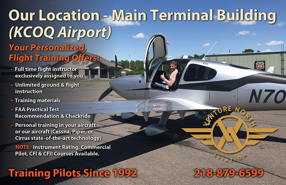 Our Location Cloquet MN KCOQ Airport