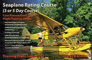 Seaplane Rating Course Training